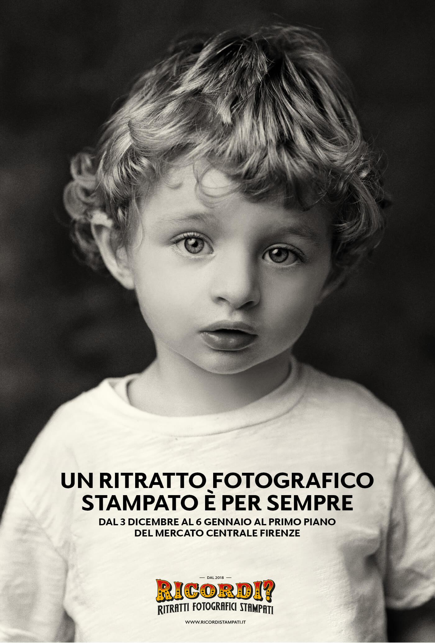 Un Ritratto Fotografico Stampato è per sempre. Mercato Centrale Firenze